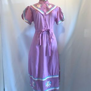 Beautiful vintage purple dress
